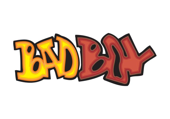 Bad Boy Graffiti Piece
