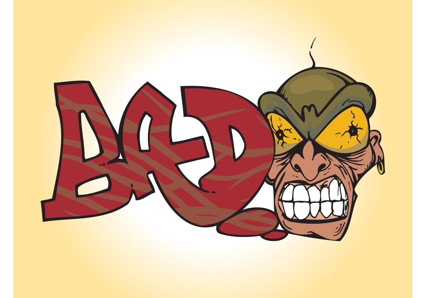 Crazy Man Graffiti Download Free Vector Art Stock