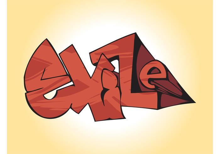3D Graffiti Graphics