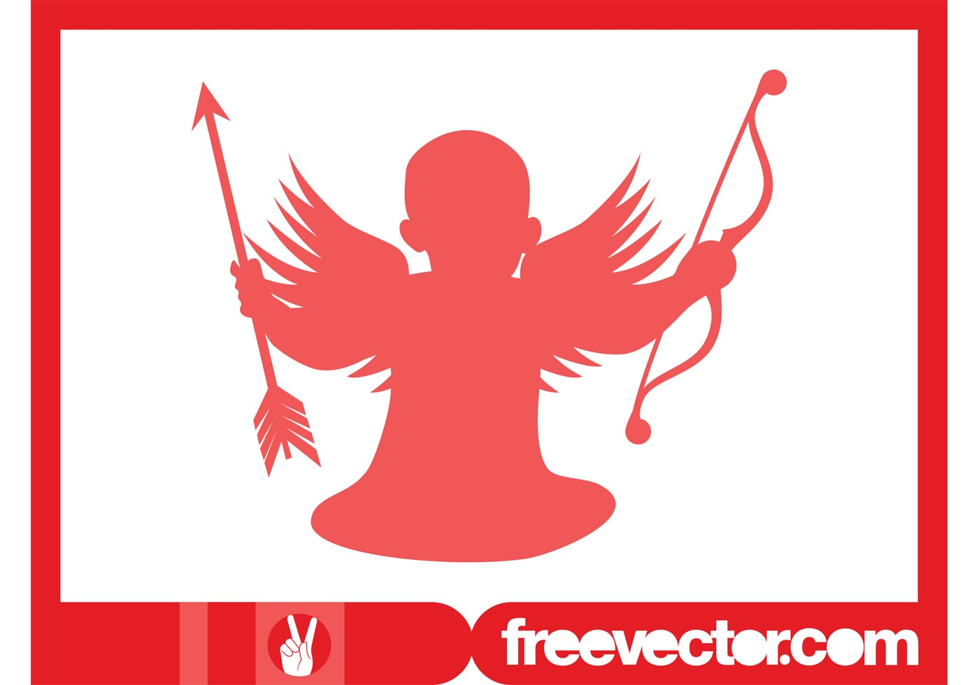 Cupid Silhouette Download Free Vector Art Stock Graphics Images