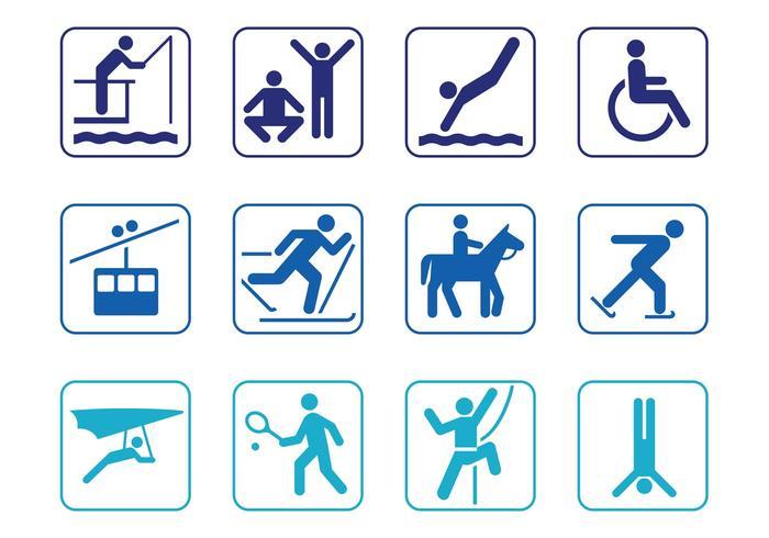 Person Symbol Set