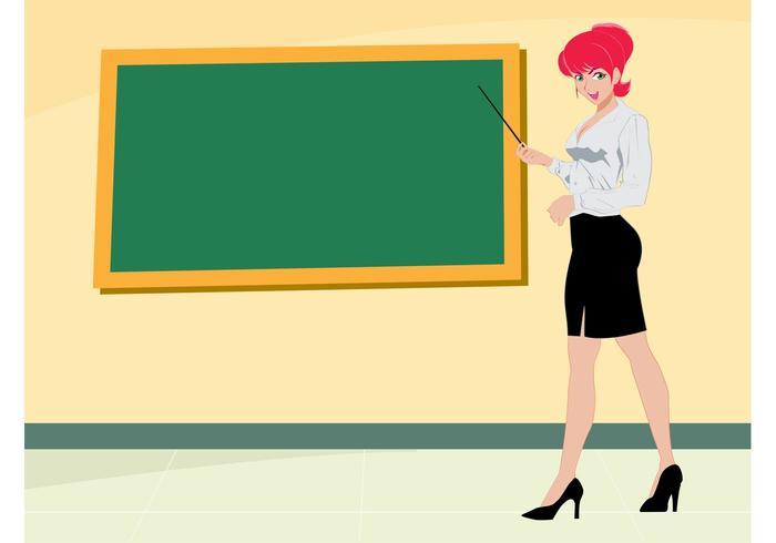 Sexy Teacher Girl