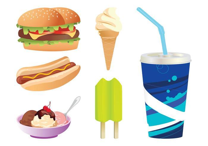 Fast Food Graphics