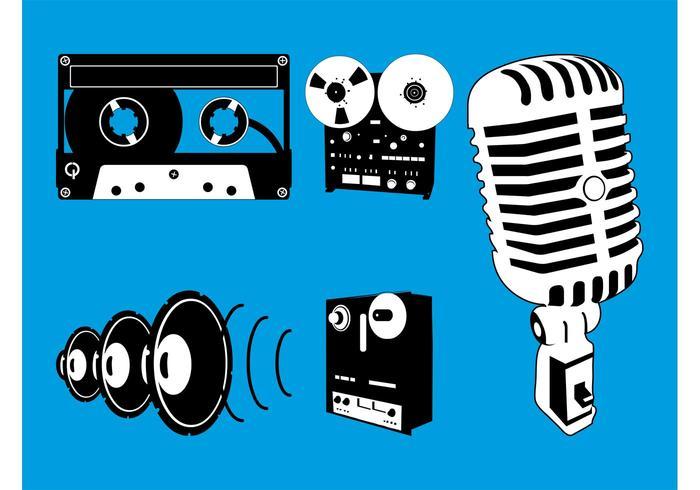 Gráficos de equipamentos de áudio