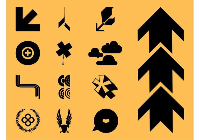 Cool Icons Vectors Set