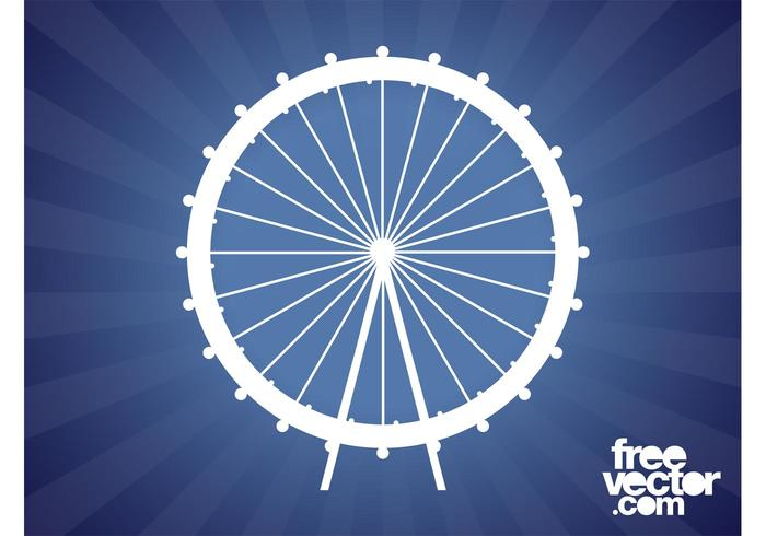 Ferris Wheel Silhouette