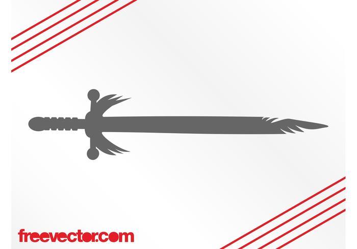Antique Sword Silhouette