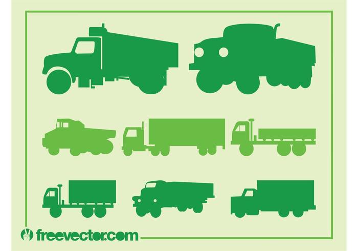 Trucks Silhouette Set