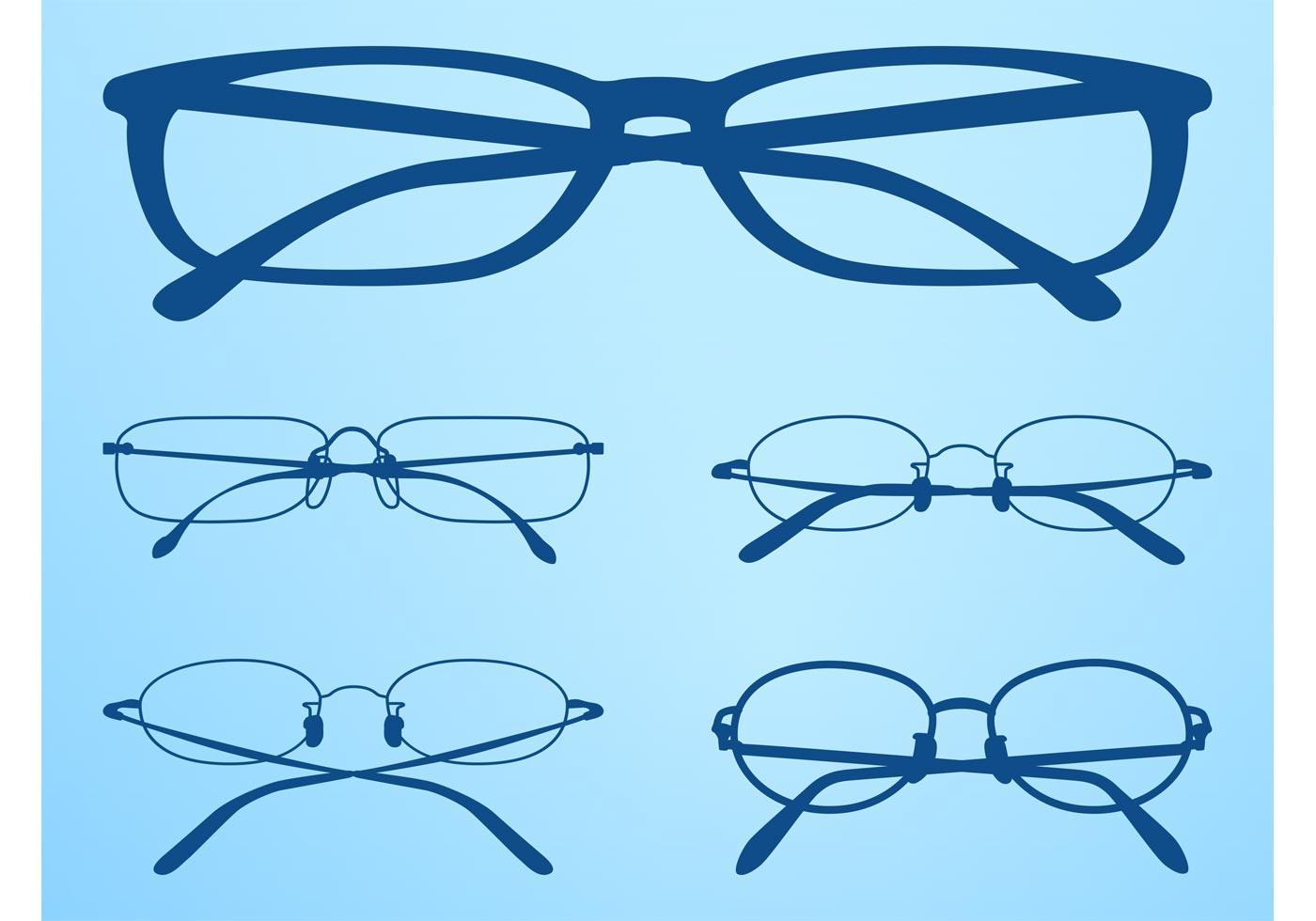 Glasses Frames Vector : Glasses Frames Vectors Set - Download Free Vector Art ...