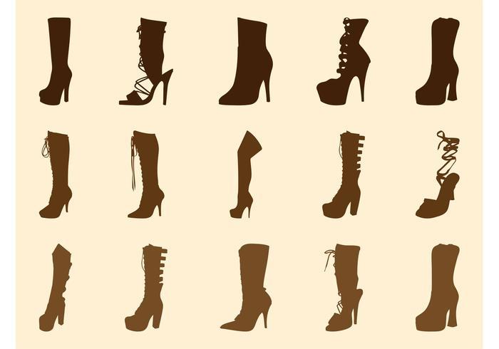 High Heel Boots Graphics