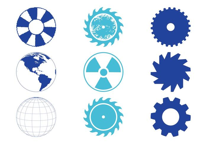 Round Objects Set