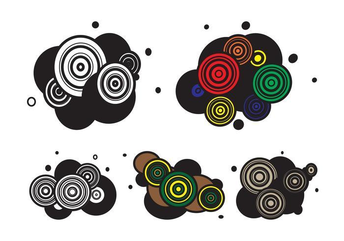 Abstract Circles Layouts