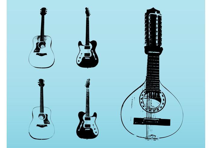 String Instruments Set