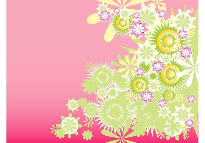 Green Decorative Flowers