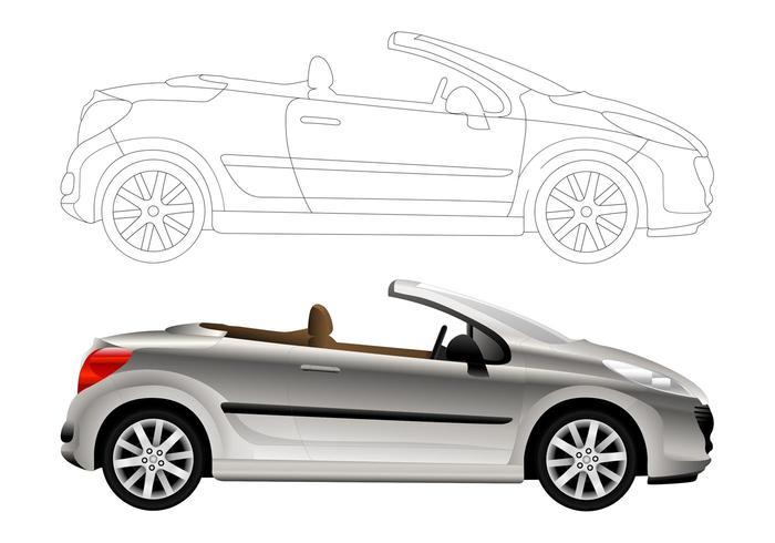 Convertible Car Graphics