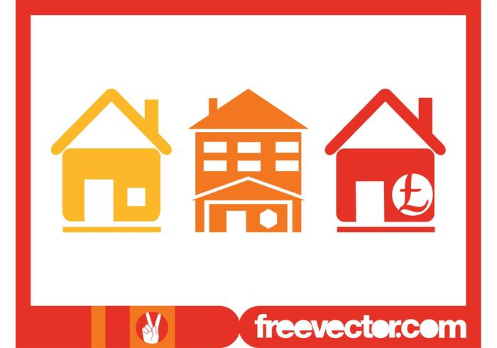 Real Estate Icons Graphics