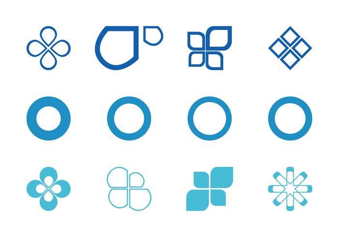 Abstract Circles And Icons