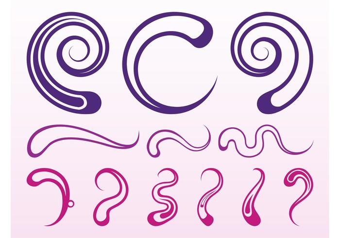 Abstract Swirls And Scrolls