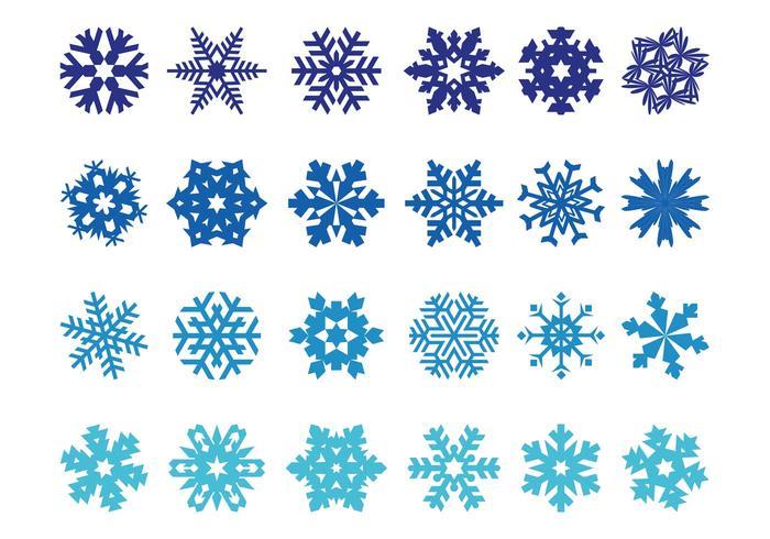 Pacote de flocos de neve