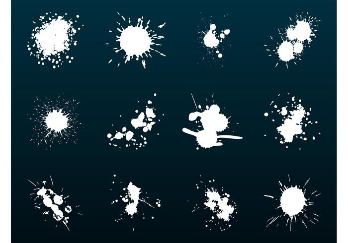 Paint Splashes Graphics