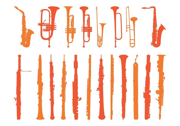 Wind Instruments Set