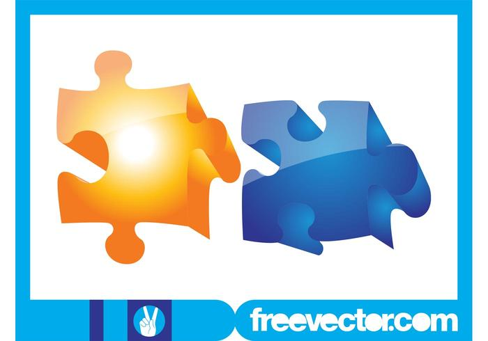 3D Jigsaw Pieces