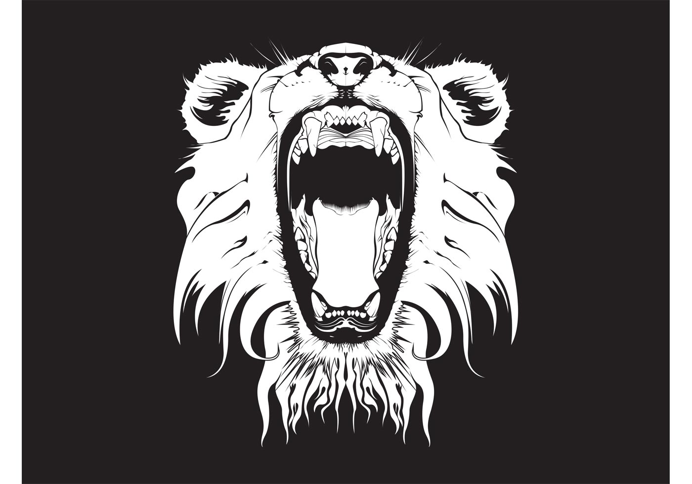 Image Of A Roaring Lion Dowload: (7493 Free Downloads