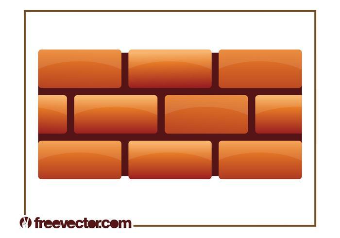Brick Wall Free Vector Art