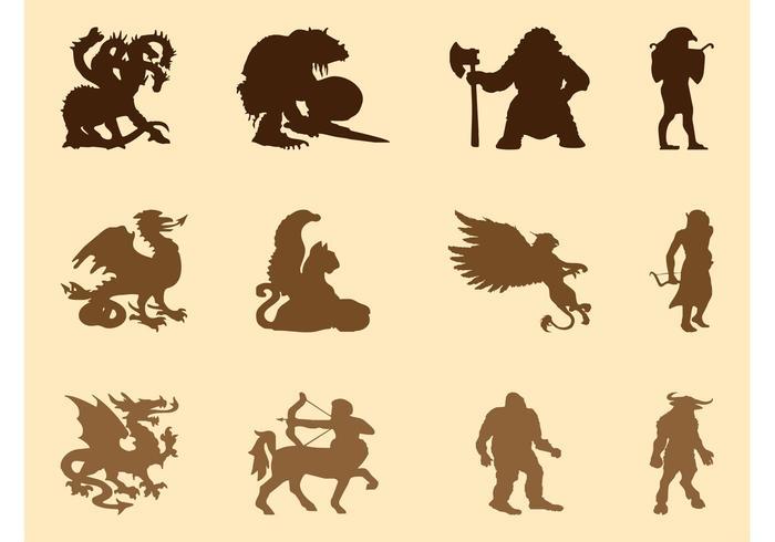 Mythological Creatures Graphics