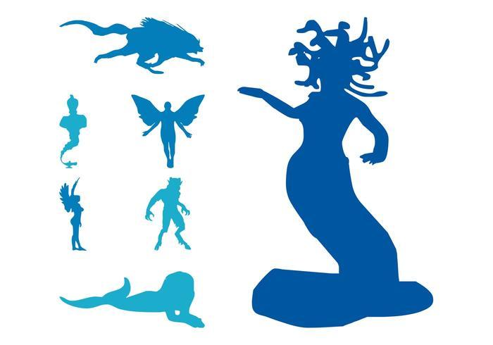 Mythological Creatures Set