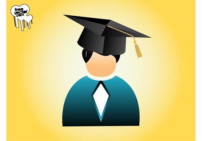 Graduating person gráficos