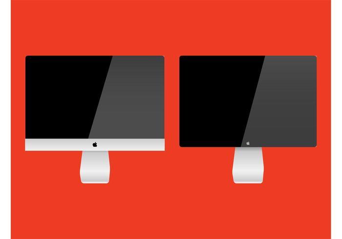iMac Vector Graphics