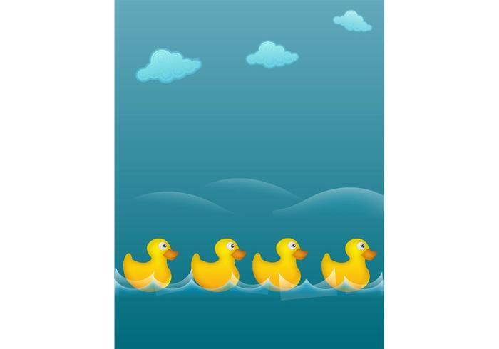 Rubber Ducks Illustration