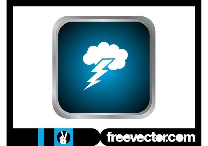 Thunderstorm Icon Graphics
