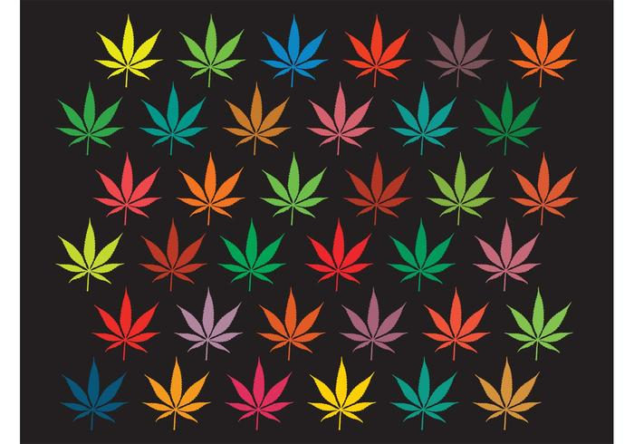 Marijuana Background Graphics