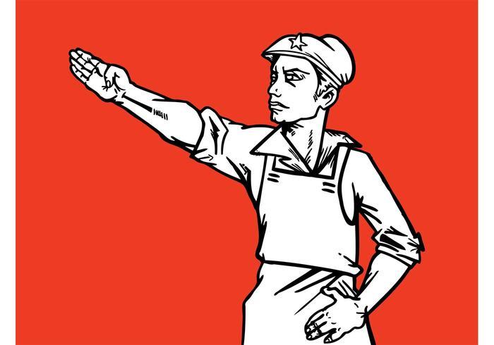 Communist Worker Graphics