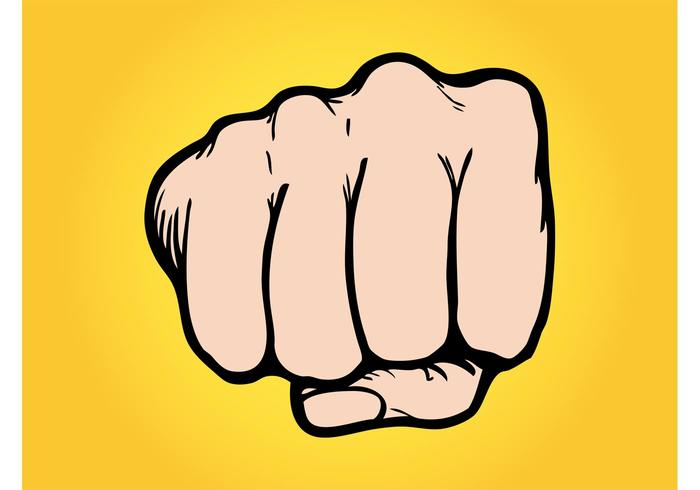 Punching Fist Vector Download Free Art Stock Graphics