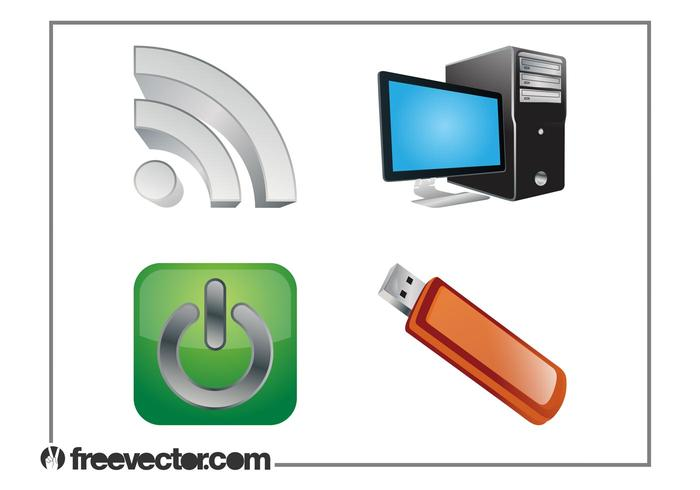 Technology Graphics Set