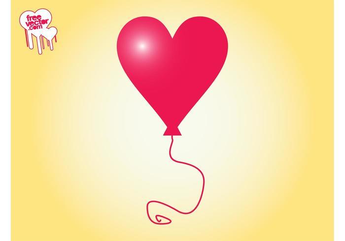 Heart Balloon Graphics