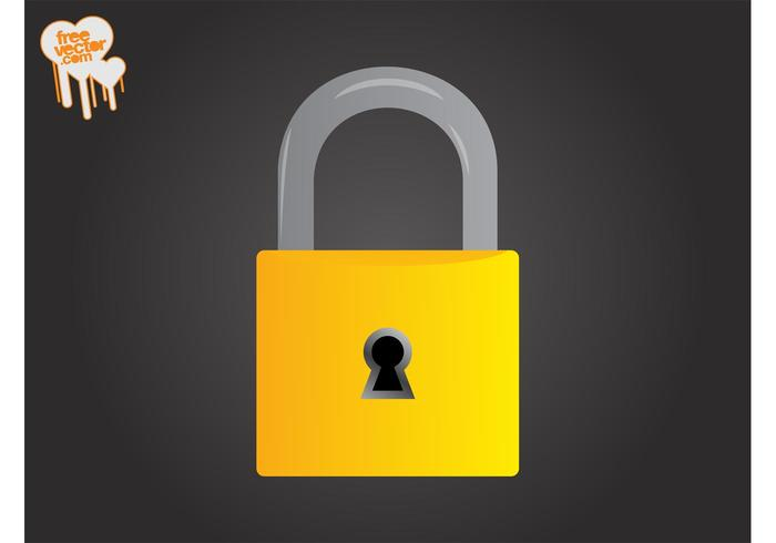 Padlock Vector Graphics