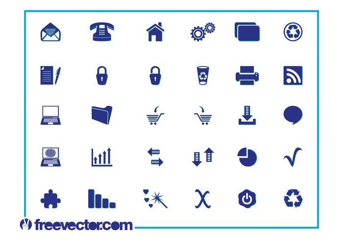 Icon Pack Vector Graphics