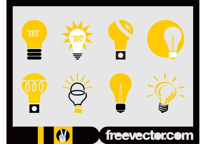 Lightbulbs Icon Set