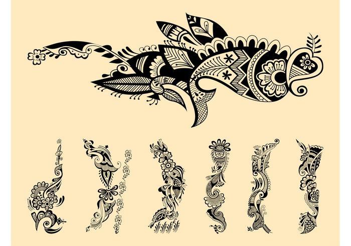 Henna Tattoos Graphics