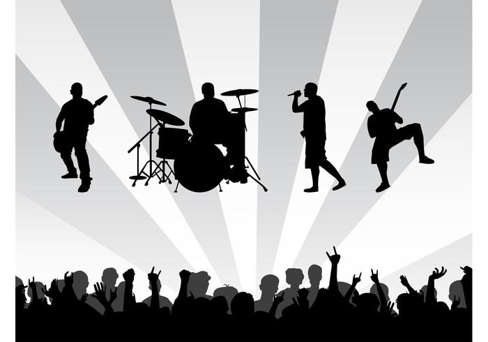 Band Concert Background - Download Free Vector Art, Stock ...