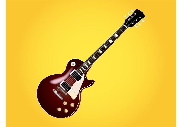 Les Paul Guitar vector