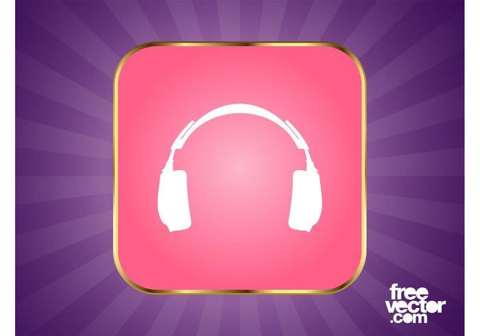 Headphones Button Graphics