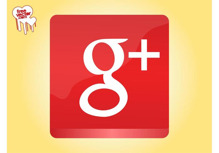 Google plus ikon grafik