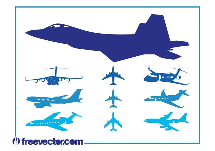 Airplanes Graphics Set