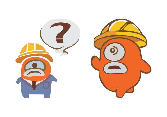 Construction Cartoon Characters
