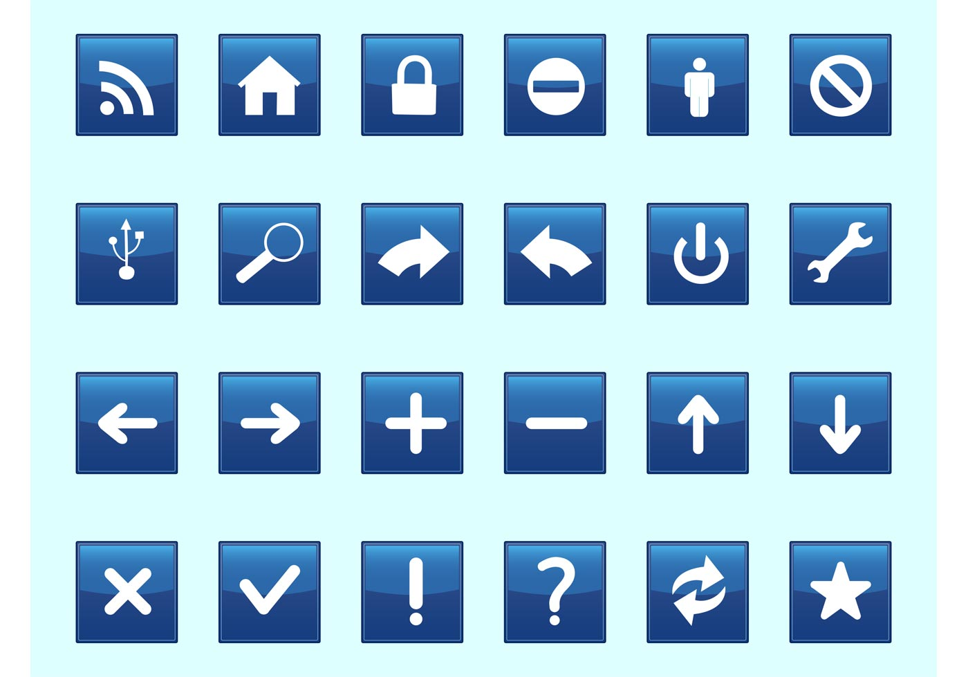 Square Technology Icons - Download Free Vector Art, Stock Graphics ...